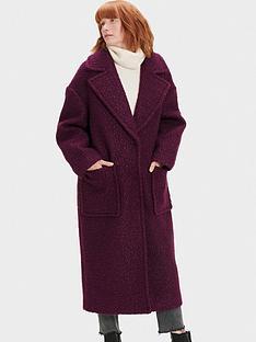 ugg-hattie-long-oversized-coat-burgundy
