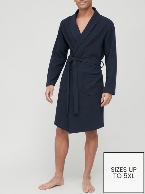 very-man-lightweight-waffle-robe-navynbsp