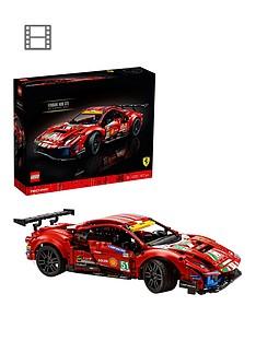 lego-technic-ferrari-488-gte-ldquoaf-corse-51rdquo-car-set-42125
