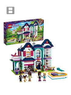 lego-friends-andreas-family-house-dollhouse-playset-41449