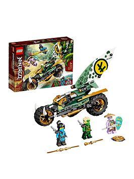 lego-ninjago-lloydrsquos-jungle-chopper-bike-toy-71745