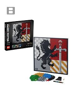 lego-art-harry-potter-hogwarts-crests-poster-canvas-set-31201