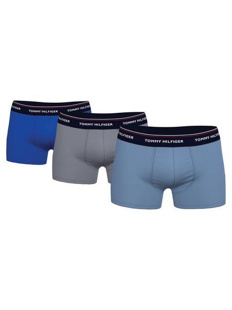 tommy-hilfiger-3-pack-trunks-blue