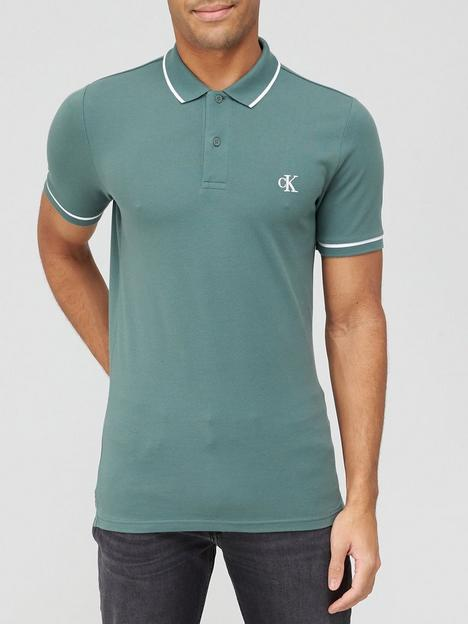 calvin-klein-jeans-tipping-slim-polo-shirt-green