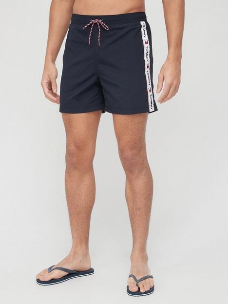 tommy-hilfiger-slim-fitnbspmedium-drawstring-swim-shorts-desert-sky
