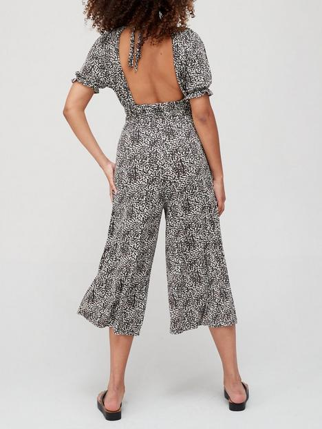 v-by-very-puff-sleeve-jersey-cropped-jumpsuit-animal-print