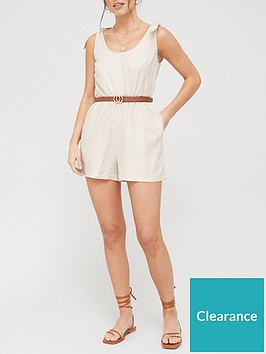 v-by-very-tie-shoulder-linen-mix-playsuit-stone