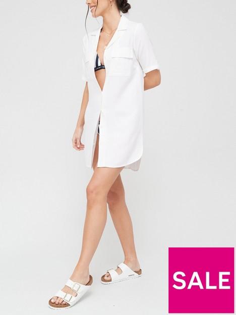 v-by-very-linen-mix-longline-tunic-shirt-white