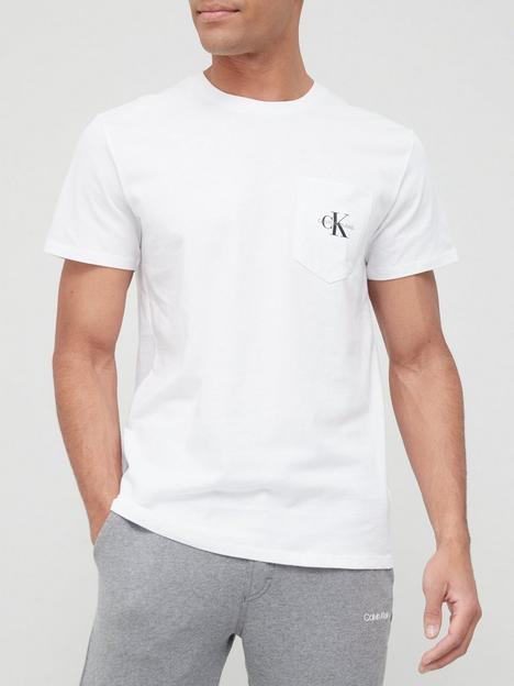 calvin-klein-jeans-monogram-pocket-t-shirt-white