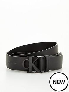 calvin-klein-jeans-monogram-plaque-belt-black