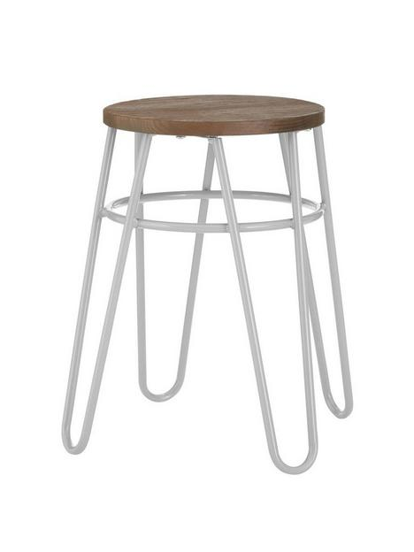 premier-housewares-district-hairpin-stool--greyelm