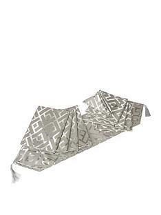 platinum-glitz-geo-9-piece-table-linen-set