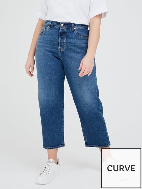 levis-plus-501-crop-jean-blue