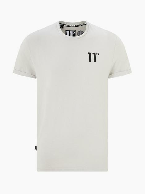 11-degrees-core-muscle-fit-tee-vapour-grey
