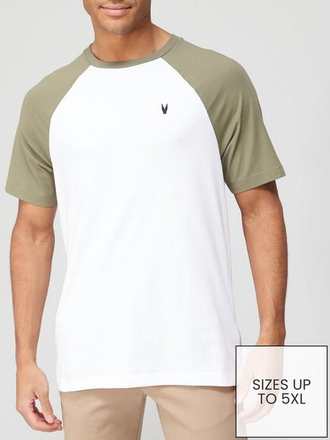 very-man-raglan-t-shirt-khakiwhite