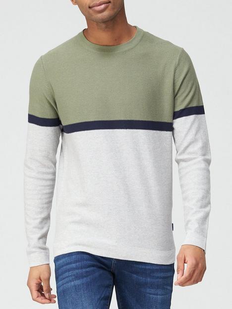 jack-jones-colour-block-knitted-jumper-multi