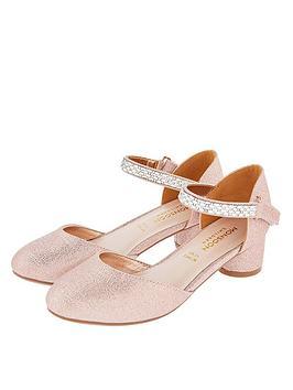 monsoon-girls-diamante-trim-two-part-heel-shoes-rose-gold