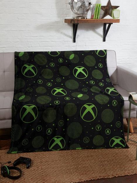 xbox-x-box-sphere-fleece-blanket