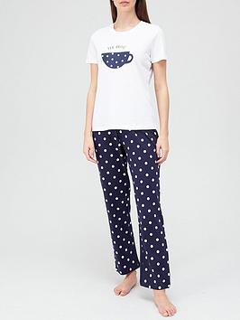 v-by-very-tea-slogan-pyjamas-spot