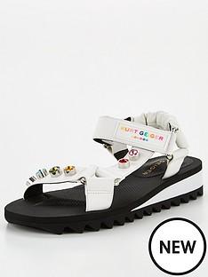 kurt-geiger-london-orion-flat-sandal--nbspwhite