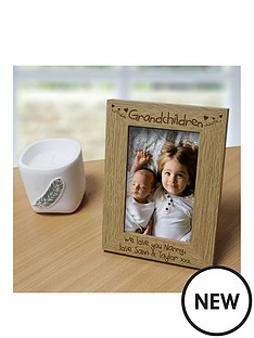 personalised-wooden-grandchildren-photo-frame