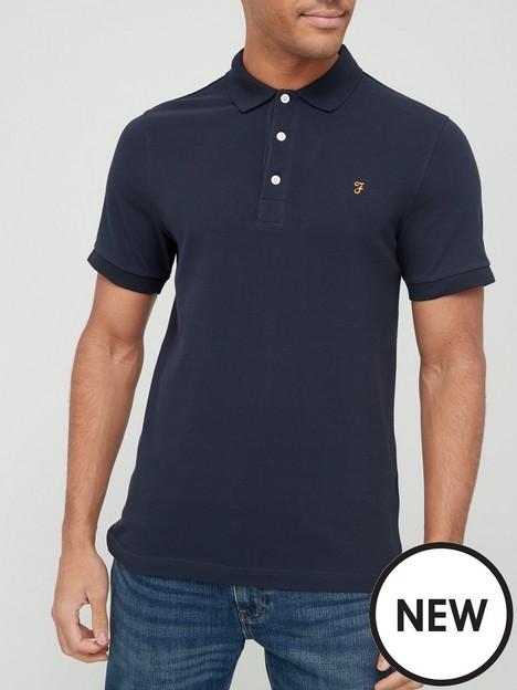 farah-blanes-pique-polo-shirt-navynbsp