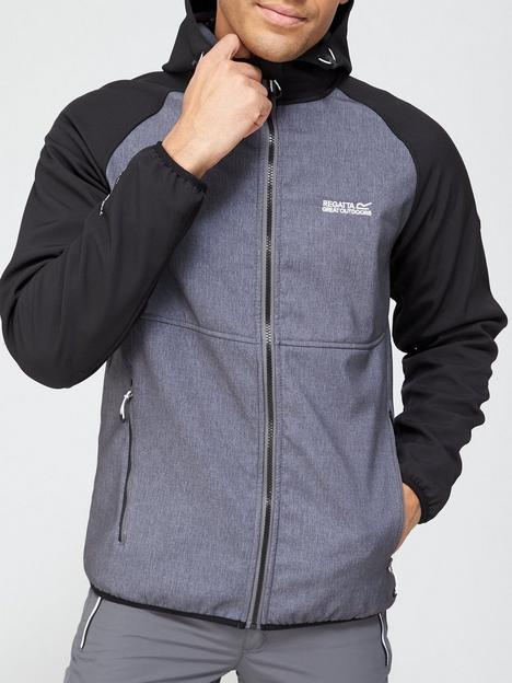 regatta-arec-hooded-soft-shell-jacket-blackgrey