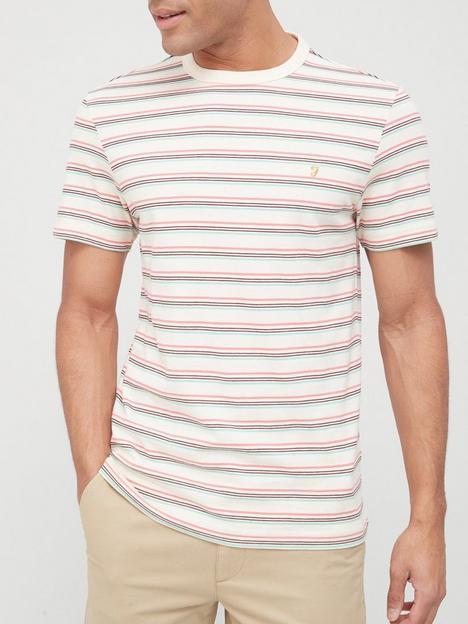 farah-canyon-stripe-t-shirt