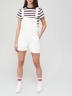 tommy-jeans-oversize-dungaree-short-white