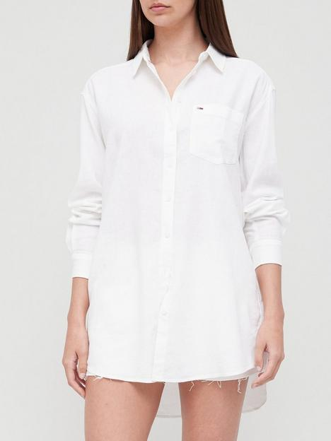 tommy-jeans-relaxed-long-shirt-white