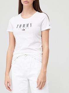 tommy-jeans-essential-skinny-logo-t-shirt-white