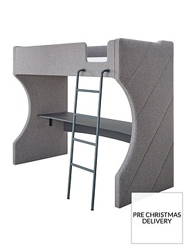 maxence-high-sleeper-bednbspnbspdesk-and-mattress-options-buy-and-save