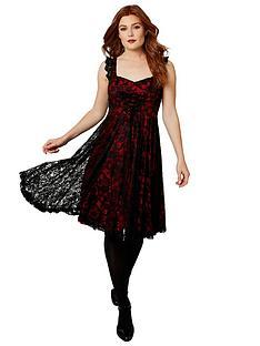 joe-browns-nancy-lace-dress-blackred