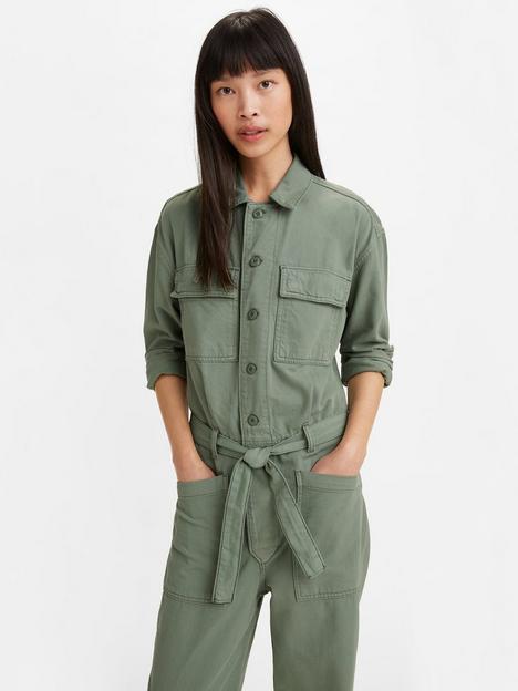 levis-utility-button-down-jumpsuit-green