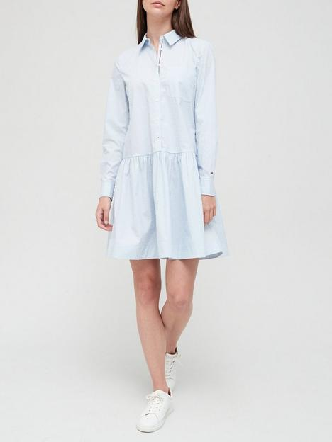 tommy-hilfiger-cotton-poplin-shorter-shirt-dress-light-blue