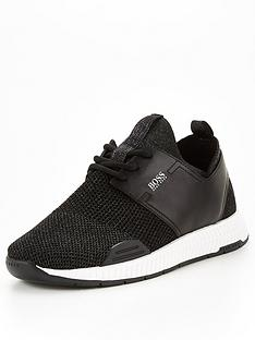 prod1090204842: Titanium Knitted Runner Trainers
