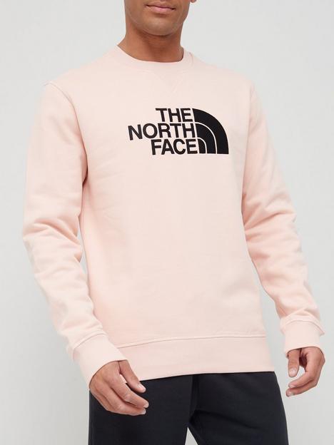 the-north-face-drew-peak-crew-neck-sweat-pink
