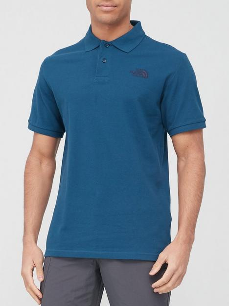 the-north-face-piquet-polo-shirt-blue