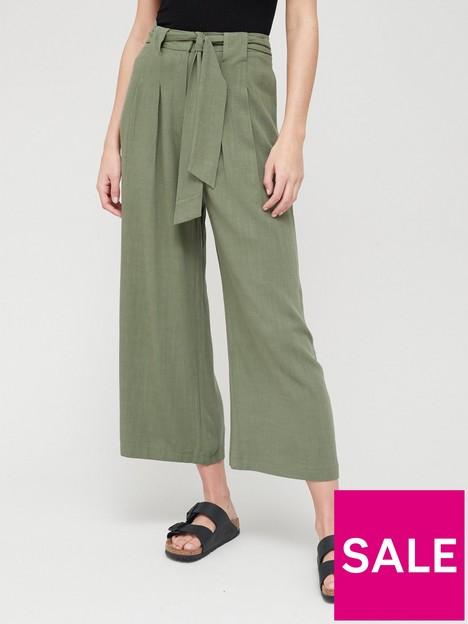 v-by-very-tie-waist-linen-culottes-khakinbsp