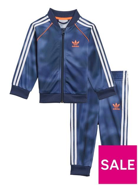 adidas-originals-boys-infant-tracksuit-bluewhite