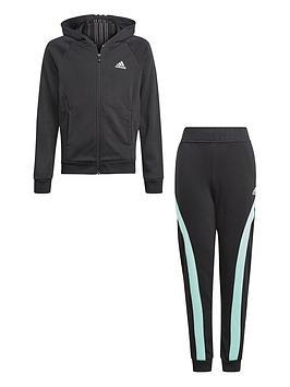 adidas-adidas-girls-junior-g-hooded-co-tracksuit
