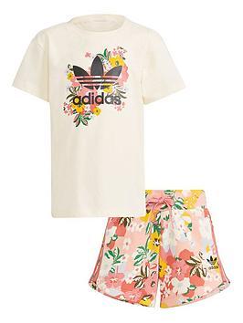 adidas-originals-girls-younger-t-shirt-and-shorts-setnbsp--white