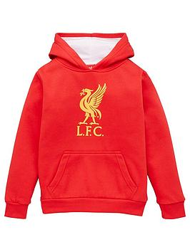 liverpool-fc-source-lab-liverpool-fcnbspjunior-crest-hoodienbsp--red