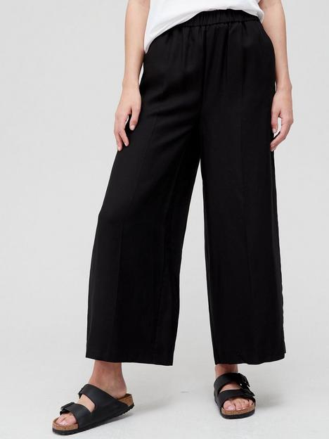v-by-very-elasticated-waist-culotte-black