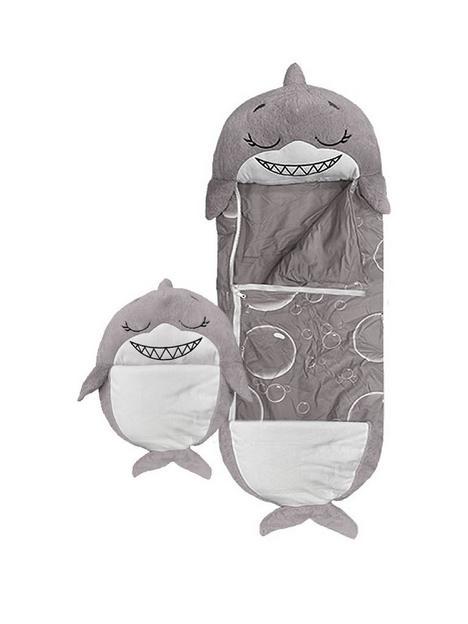 happy-nappers-grey-shark-sleeping-bag-large