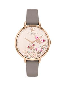sara-miller-sara-miller-white-butterfly-dial-grey-leather-strap-ladies-watch