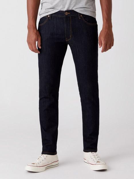 wrangler-larston-slim-taper-jeans-dark-rinse