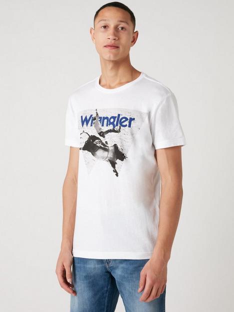 wrangler-photo-t-shirt-white