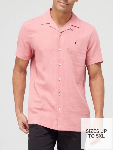 very-man-plain-linen-shirt-pink