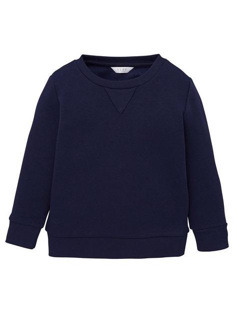 v-by-very-unisex-crew-neck-schoolnbspsweatshirt-navy